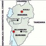 Cartina Ruanda